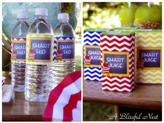 Back to school snack drinks
