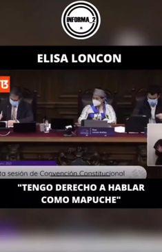 """239 Me gusta, 8 comentarios - @chile.dignidad en Instagram: """"🔴 """"Tengo derecho a hablar como Mapuche"""", Elisa Loncon discutió con Tere Marinovic ☝ Vía…"""" Chile, Tv, Instagram, Law, Inspirational Quotes, Television Set, Chili, Television"""