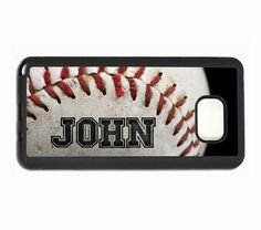 PERSONALIZED NAME BASEBALL PHONE Case For Samsung Galaxy S7 EDGE S6 S5 NOTE 7 5…