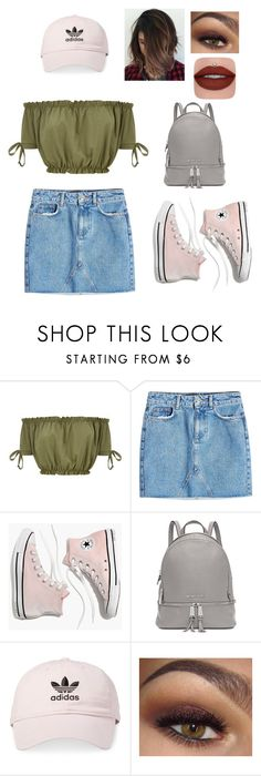 """Untitled #6"" by jadynlyons ❤ liked on Polyvore featuring Anine Bing, Madewell, Michael Kors, adidas and fall2017"