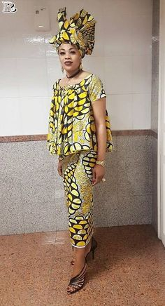 Over 30 African yellow dresses - Reny styles over 30 African yellow dresses 2018 - Reny styles Best African Dresses, African Traditional Dresses, Latest African Fashion Dresses, African Print Dresses, African Print Fashion, Africa Fashion, African Attire, African Wear, African Women