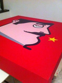 Just finished! Stalin #painting #popart #pop #folks #folk #mate #amazing #art #artist #graffiti #museum #canvas #artist #cuba #losangeles #artstudio #masterpiece #milano #paintings #streetart #flag #picoftheday #inspiration #streetarteverywhere #spraypaint #instago #iaboworld #spraycan #instagallery