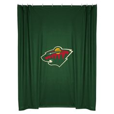 Minnesota Wild Shower Curtain, Green