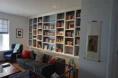 inbouw boekenkast - Google zoeken