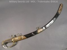 English Light Company 1803 Officer's Sword, Royal Welsh Fusilers