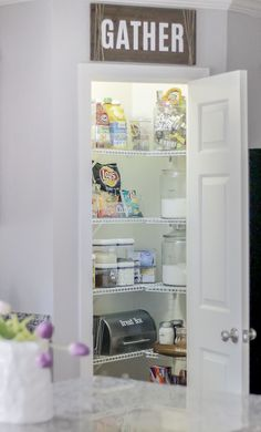 Small Pantry Organizing Tips & Tricks - Get your kitchen organized today.