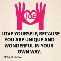 You are wonderful Uniquie Love Peace You Positive Vibes, Positive Quotes, Motivational Quotes, Positive Attitude, You Are Wonderful, Love You, Diabetes Treatment Guidelines, I Feel Good, Happy People