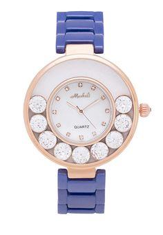 Look Good นาฬิกาข้อมือ Circular Crystal   ZALORA THAILAND created by #ShoppingIS