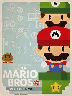 Mario Bros - by Danvinci