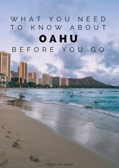 Everything you need to know about Oahu to plan the perfect beach vacation on this lush Hawaiian island. Best Island Vacation, Oahu Vacation, Honeymoon Vacations, Hawaii Honeymoon, Hawaii Travel, Spain Travel, Beach Travel, Mexico Travel, Vacation Ideas