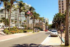 Puerto Rico - Den moderne delen av San Juan