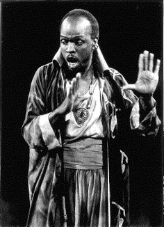 Bob Devin Jones as Othello in a 1990 production of OTHELLO. Photo credit: David Allen. #calshakes40th