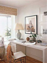 Small Home Office Design Ideas Small Home Office Decorating Ideas! Your Guide to Creating the Home Office of Your Dreams Small Home Office Design Ideas. Having only a small space to work with has i… Small Home Offices, Small Space Office, Home Office Space, Home Office Decor, Office Ideas, Desk Space, Office Spaces, Small Room Bedroom, Small Rooms