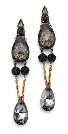 Erickson Beamon - Blue Nile Drop Earrings