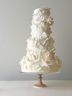 6 Wedding Cake Trends in 2020 Black Wedding Cakes, Elegant Wedding Cakes, Elegant Cakes, Beautiful Wedding Cakes, Gorgeous Cakes, Wedding Cake Designs, Pretty Cakes, Unique Cakes, Purple Wedding