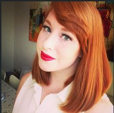 long bob with bangs... seriously considering this