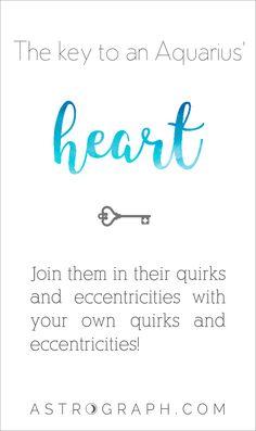 #Aquarius #Astrology #Zodiac #Heart http://www.astrograph.com/horoscopes/aquarius/