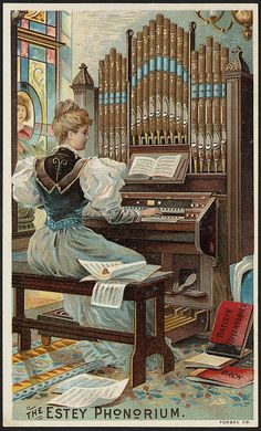 The Estey Phonorium. (front) | Flickr - Photo Sharing!