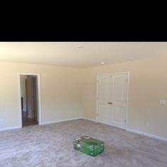 Corner view of master bedroom
