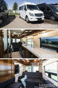 Thinking about embracing Check out this beautiful Galleria van by Coachmen, available now at Lazydays Class B Motorhomes, Motorhomes For Sale, Dodge Ram Van, Class B Rv, Luxury Rv, Travel Trailers For Sale, Used Rvs, Van Camping, Sprinter Van