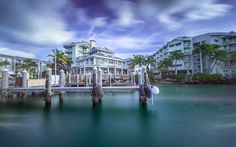 Download wallpapers America, pier, ocean, Florida, United States, USA