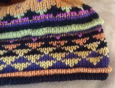 Free Pattern: Golden Triangle Hat by Malene