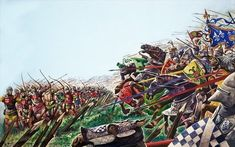3 Of The Biggest Battles Won By the Englishmen During The Hundred Years War