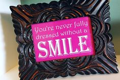 Love this saying- would be fun in a bathroom :) free printable at this link