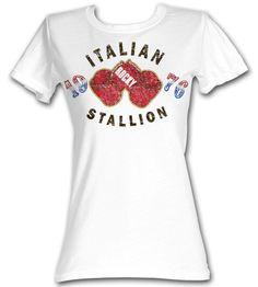 """Rocky """"Italian Stallion"""" Junior Fit Tee"""
