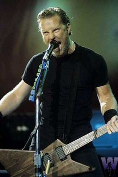 I love James Hetfield