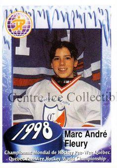 Marc-Andre Fleury in Pee-Wee Hockey 🐧🏒 Hockey Goalie, Field Hockey, Hockey Teams, Hockey Players, Ice Hockey, Hockey Stuff, Pittsburgh Sports, Pittsburgh Penguins Hockey, Pittsburgh Pirates