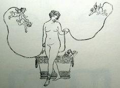 """Бакст Лев  """"Концовка к статье В.В.Розанова """"Пестум"""" для журнала """"Мир искусства""""  1902"""