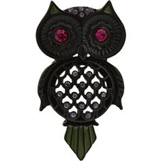 betsey johnson knows her owls