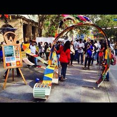 Installation made by #WWNLSFStudents at the Kala Ghoda Arts Festival, 2015