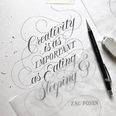 Beautiful flourishes in this work by @ddccad - #typegang - typegang.com