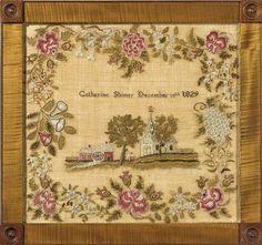 Catharine Shimer, Mary Ralston School. Easton, Pennsylvania, 1829