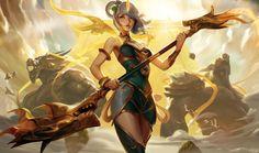 Lunar Empress Lux, crow god on ArtStation at https://www.artstation.com/artwork/JKP0D