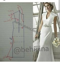 Couture Sewing Vestido Formal Clothing Patterns Dress Patterns Sewing Patterns Techniques Couture Sewing Techniques Make Your Own Dress Panel Dress Sewing Dress, Dress Sewing Patterns, Blouse Patterns, Sewing Clothes, Clothing Patterns, Wedding Dress Patterns, Fashion Sewing, Diy Fashion, Ideias Fashion