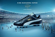 d58211d713b25c Puma King Maradona Super Football Boots honor the anniversary of Maradona s  infamous 1986 World Cup goal.