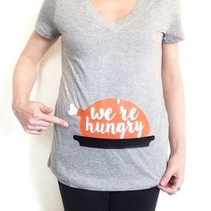 What to Wear on Thanksgiving for our Momma to Be : up on the blog!  PS: how stinking cute is this tee?
