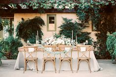 Photography : Sally Pinera | Event Planning + Design : Smith And James Events | Event Styling : Kelly Oshiro Read More on SMP: http://www.stylemepretty.com/2016/01/15/ojai-winter-wedding-inspiration-pear-brandy-champagne-cocktail/