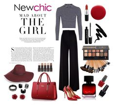 """""""Newchic Contest! Win This Sweet Handbag #newchic #chic #new"""" by katherine-ribka-selpana ❤ liked on Polyvore featuring Halogen, MaxMara, Topshop, Salvatore Ferragamo, MAC Cosmetics, Oribe, Kershaw, Marc Jacobs, The Collection by Phuong Dang and OPI"""
