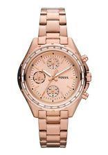 d35e05a52abc reloj FOSSIL de mujer CH2826 Coll. DYLAN Dorado rosa Watch Damenuhr Montre  Relojes Fossil