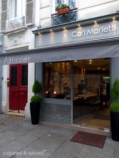 Carl Marletti's pastries