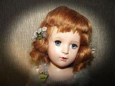 "GORGEOUS VINTG RARE & HTF MADAME ALEXANDER ""BABS"" IN TAGGED TUTU CIRCA 1949 #Dolls"