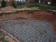 Rebar to strengthen the concrete