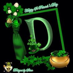 Alphabet, Saint Patricks, Letters And Numbers, St Patrick, Initials, Holidays, Lettering, Sayings, Board