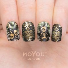 """1,812 Likes, 17 Comments - MoYou-London Official (@moyou_london) on Instagram: """"⠀ ⠀ Products included: ⠀⠀⠀⠀⠀⠀⠀⠀ Plates - Mexico 01/02⠀ Polishes - Black Knight // Cafe au…"""""""
