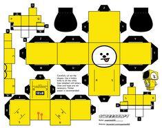 Beste Iphone Wallpaper, Bts Wallpaper, Paper Toy Star Wars, Paper Toy Pokemon, Paper Doll Template, Kpop Diy, Anime Crafts, Ideias Diy, Bts Drawings