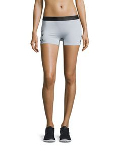 Booty+Boost+Star-Print+Sport+Shorts,+Gray+by+Monreal+London+at+Neiman+Marcus.